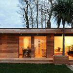 Modern garden house design approach